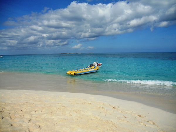 Paradise Beach Beautiful Sea Beautiful Beach Sea And Sand White Sand Life Is A Beach White Clouds Blue Sky White Clouds Vacation Beach Photography Caribe Nassau Bahamas Traveling Vacation Time Enjoy Life Nassau, Bahamas