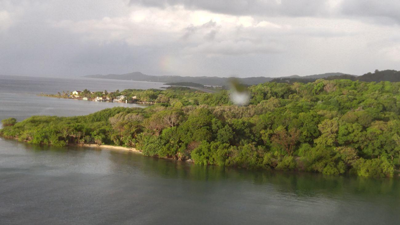 Honduras Water Sky Rainbow