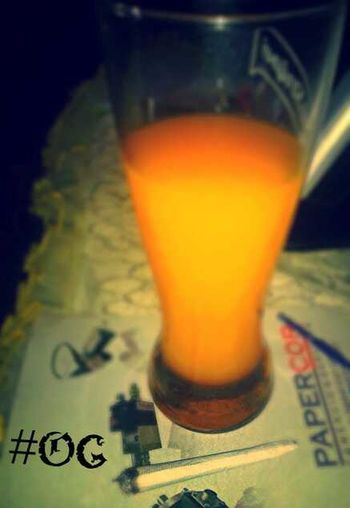 Kush 'n Orange Juice