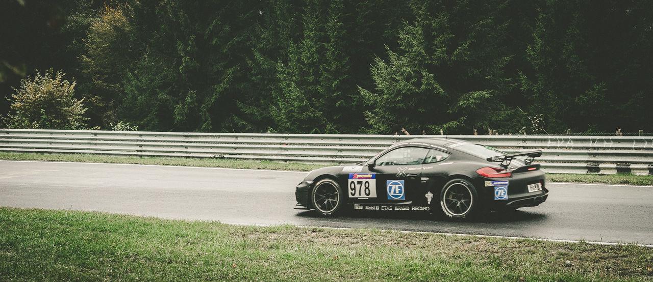 Black Day Motorsport No People Outdoors Porsche Racecar Racetrack Racing Tree