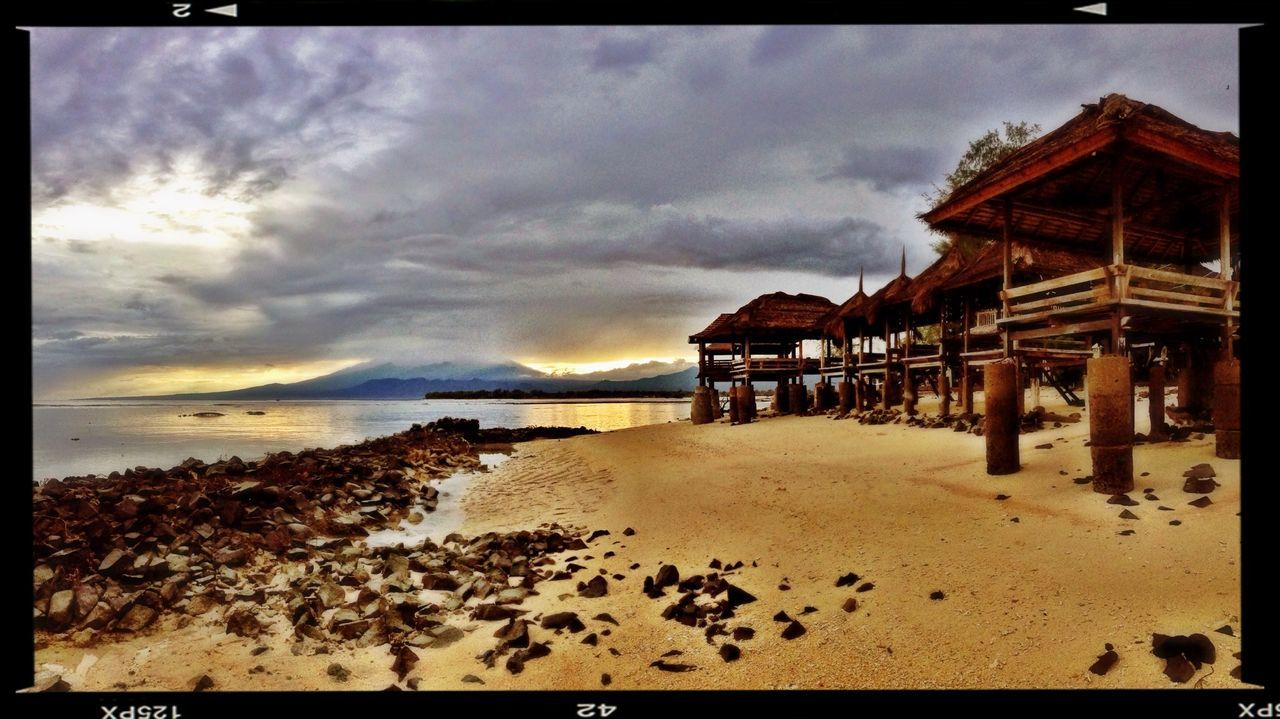 Sunrise Gili Trawangan Morning Light Peaceful Landscapes With WhiteWall The KIOMI Collection ShotOnIphone Panorama Panoramic Gilitrawangan  INDONESIA Indonesia_photography Amazing Place Sky And Clouds Skyporn