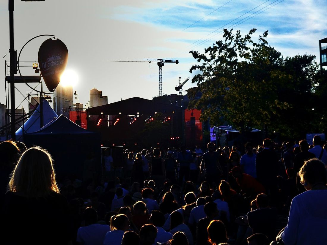 20.000 People Classical Music Open Air Concert River Bank  of the Main River Frankfurt Am Main Skycrapers In The Back Focus On Foreground Viewers In Backlight Summer In The City Urban Lifestyle Urbanphotography Festive Season Colour Of Life Music Brings Us Together