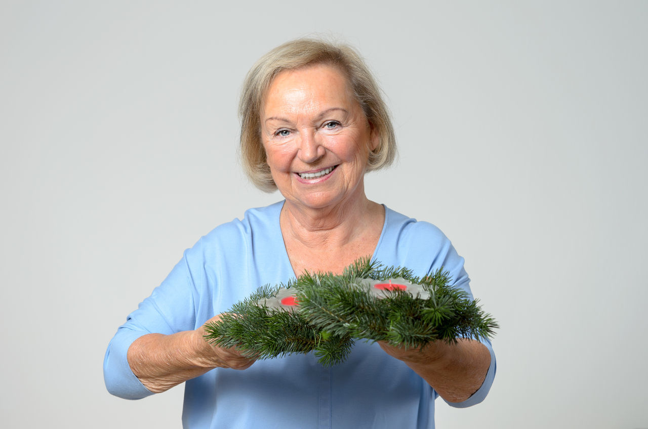 Beautiful stock photos of senior,  75-79 Years,  Adult,  Adults Only,  Christmas