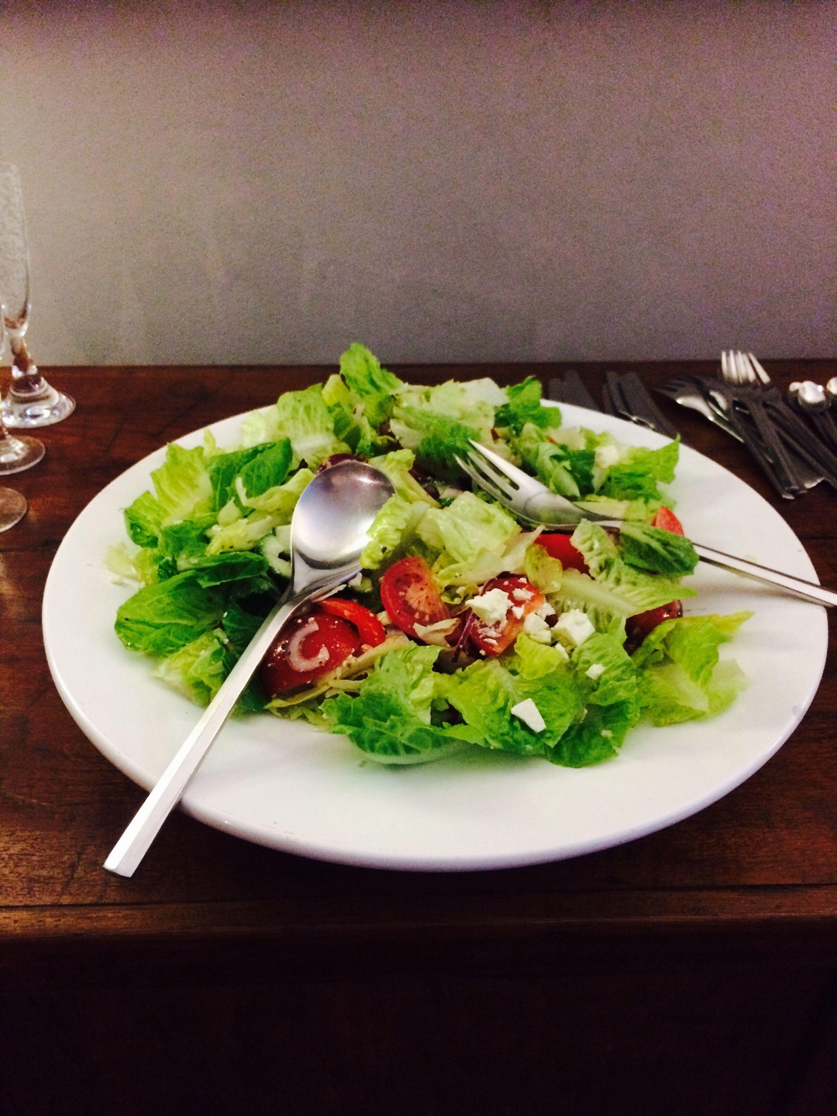 Salad Healthy Green Foodporn Yum had this for dinner lastnight