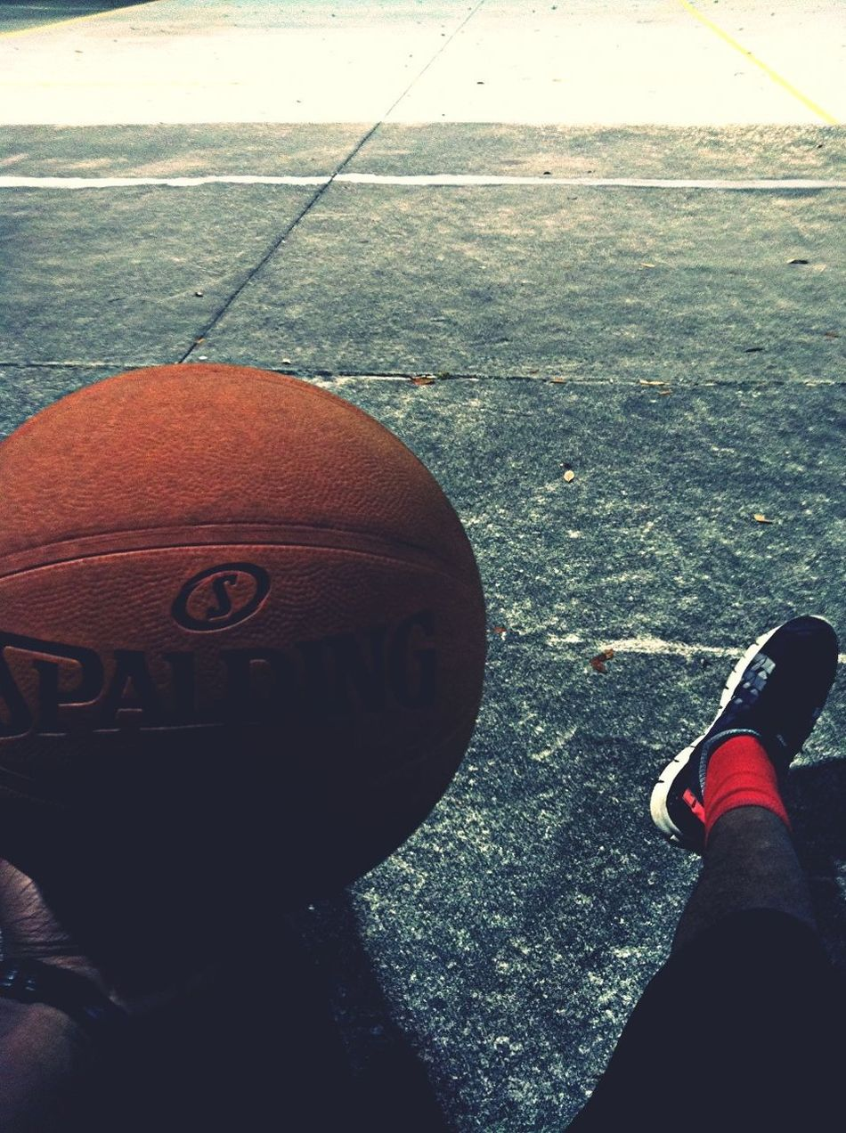 Chilling With Spalding