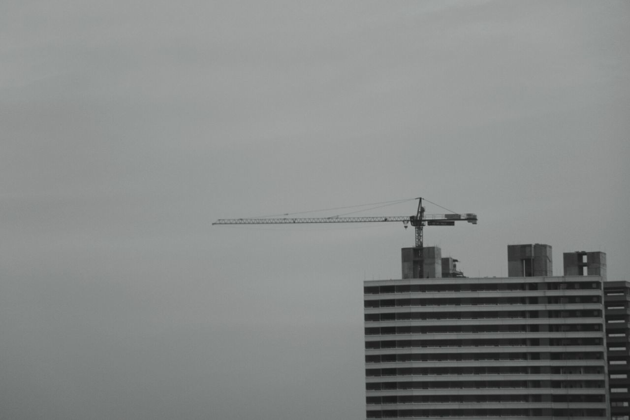 Architecture Construction Site Building Exterior Built Structure Business Finance And Industry Crane - Construction Machinery Outdoors Day No People City Modern Industry Urban Skyline Mexico Mexicocity  Sky