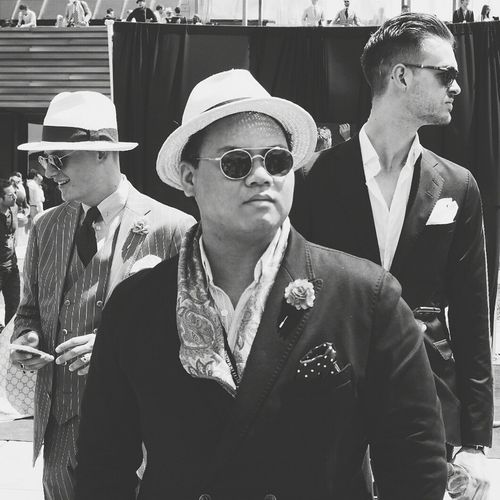 Three GoodFellas IMP At Pitti Uomo 86 Samsung Smart Camera Fashion Streetphotography Gangsters Paradise