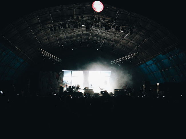 """""""Concert Scene - Steven Wilson"""" Arts Culture And Entertainment Music Performance Nightlife Crowd VSCO Experimental Smartphone Photography Moto_X_Play My Smartphone Life Steven Wilson Nh7shillong"""