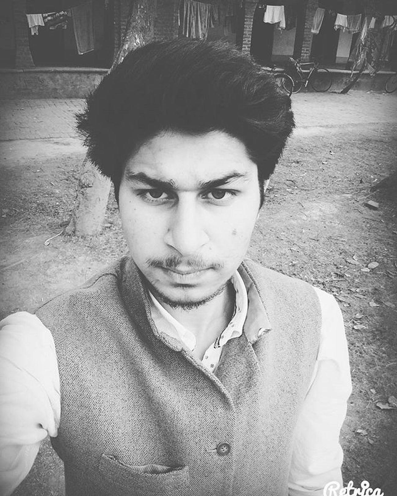 Friday Jummah Edited Blackandwhite Retrica Happy Life
