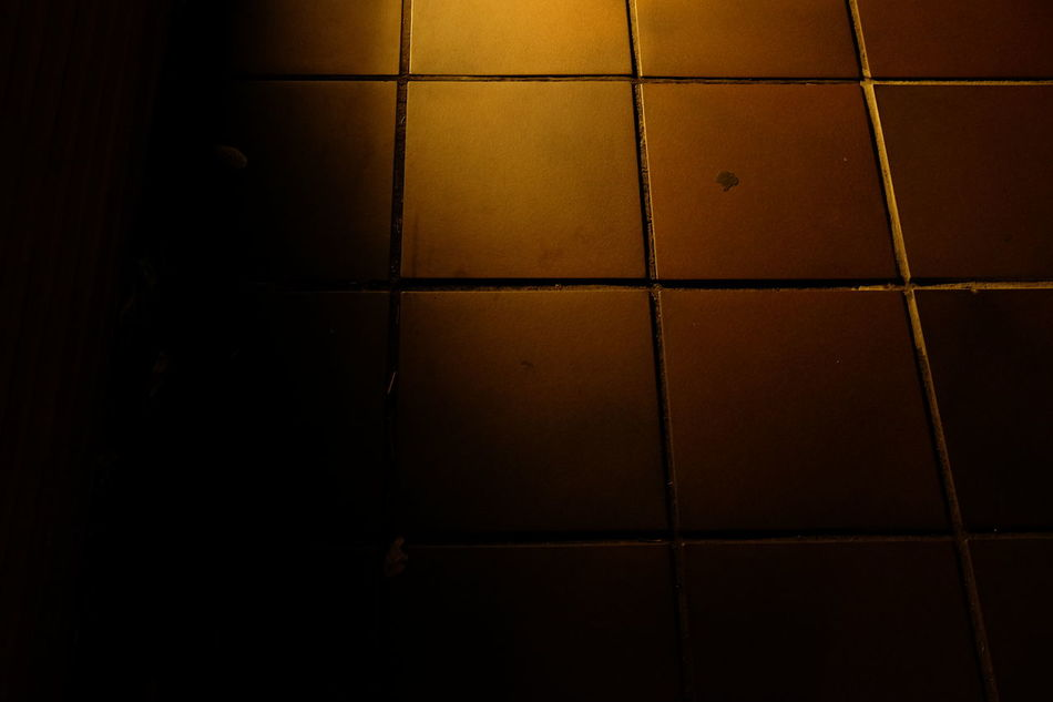 Ground Ground Level View Night Lights No People Street Photo Streetphotography Tiled Street Tiles