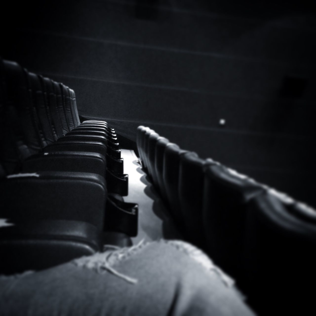 in a row, indoors, seat, no people, auditorium, close-up, day, film industry