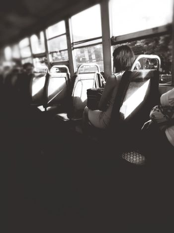 Vehicle Interior Transportation Wireless Technology Passenger Real People Holding Mobile Phone Window Photographing Photography Themes Indoors  Technology Selfie One Person Photo Messaging Young Adult Human Hand Woman Portrait Onthebus Ontheway Traffic Transportation Blackandwhite Inthebus