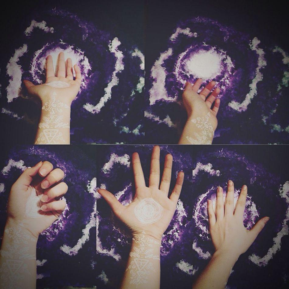Каждый творит мир своими руками Space Star Hand Painting Art V_dali First Eyeem Photo