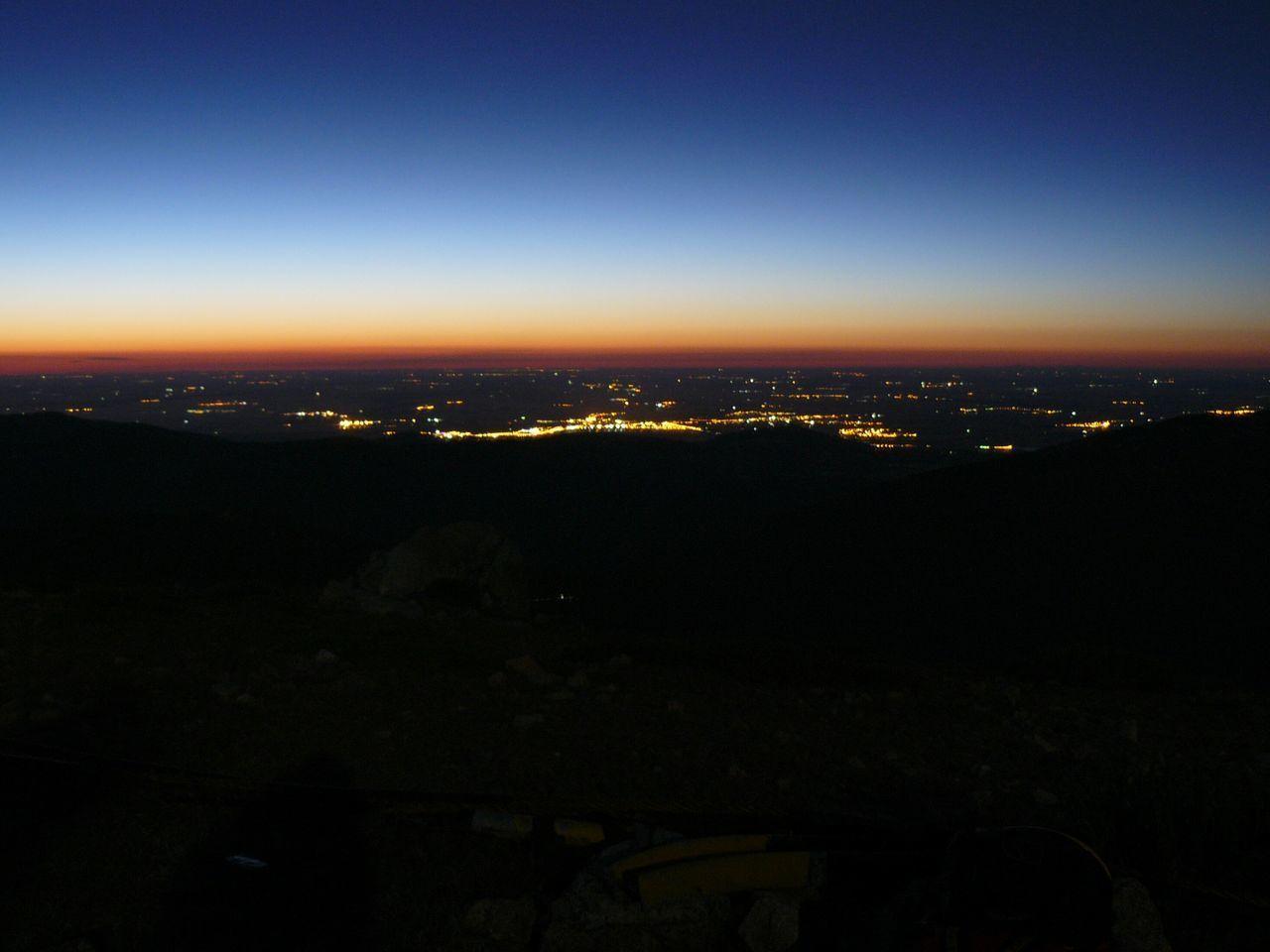 Sky Night Lights City SPAIN Cities At Night Overnight Success