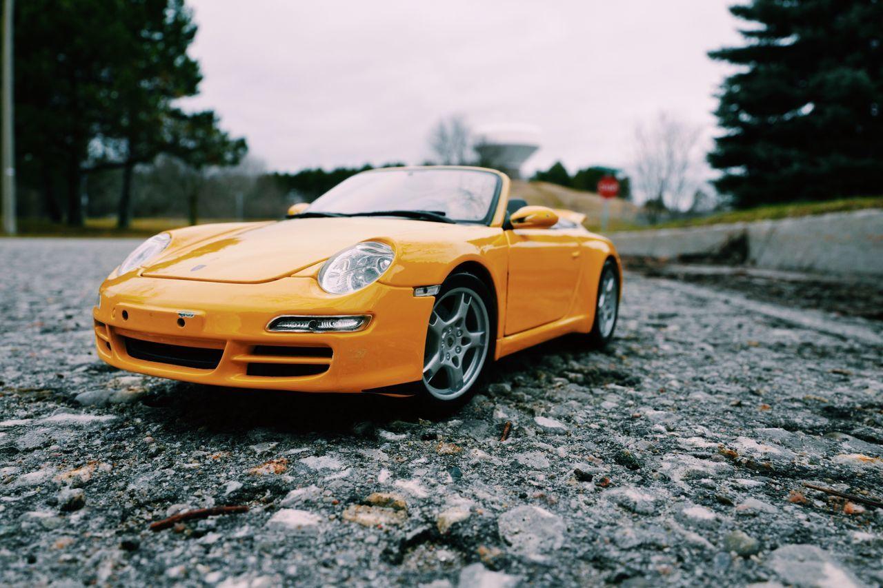 Lieblingsteil Still Life Still Life Photography Fine Art Interesting Yellow Sport Cars Toyphotography Toy Car Tree Transportation Land Vehicle Mode Of Transport Road Street Outdoors Capture The Moment Stylish Taking Photo Getting Inspired Getting Creative Perspective Eye4photography  Street Photography