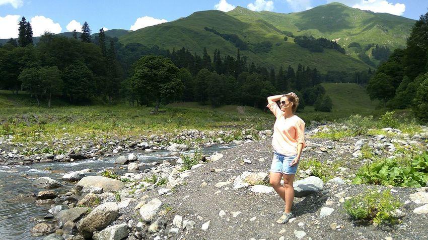 Абхазия странадуши горы Природа свобода Панорама