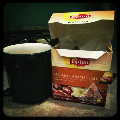 My new favorite tea. I'm in heaven!