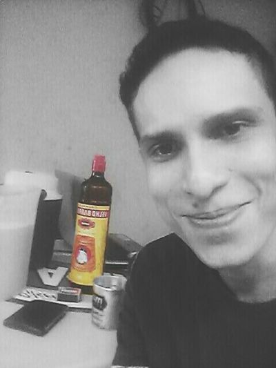 Rum Velho Barreiro Cachaça Morning Good Morning Drinking Selfie ✌ Self Portrait Republica Quatro De Paus Black & White