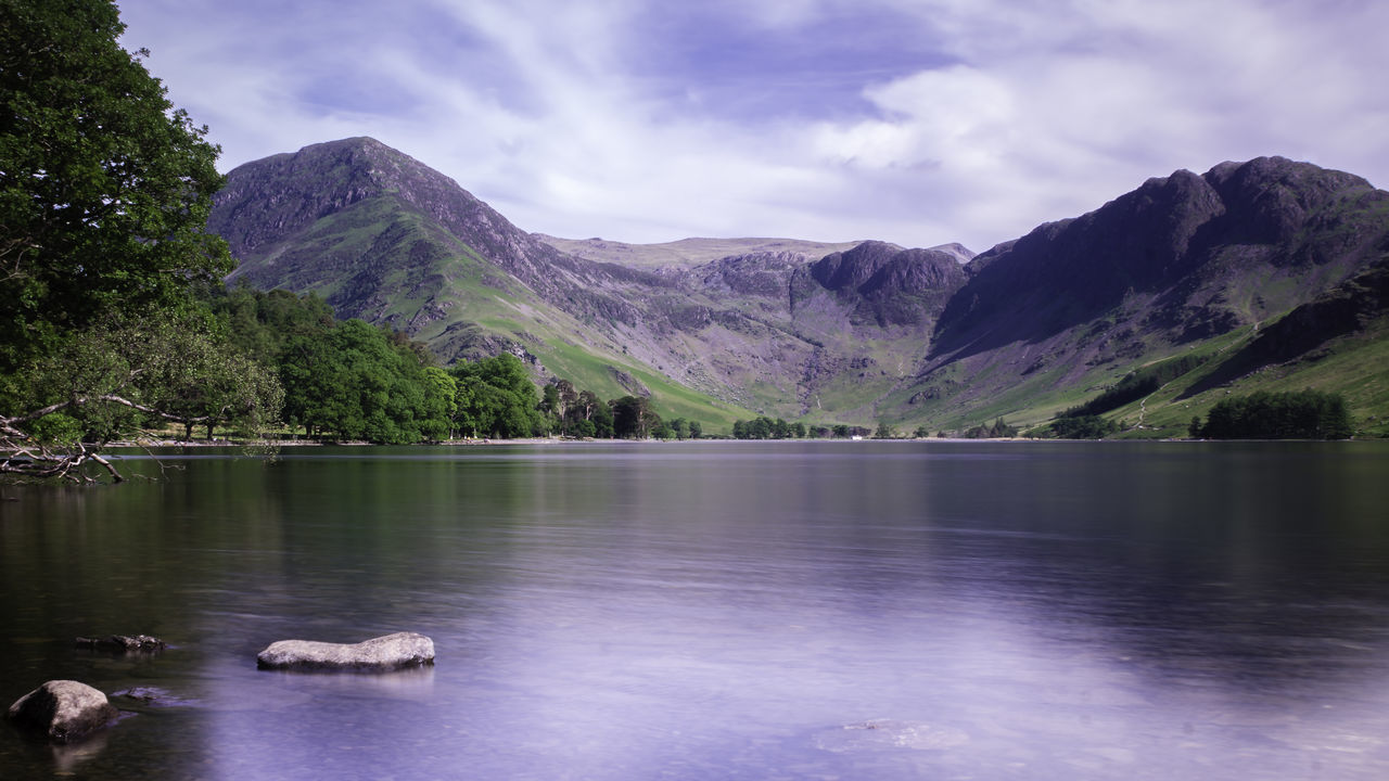 Buttermere, Cumbria Beauty In Nature Day Lake Mountain Mountain Range Nature No People Outdoors Scenics Sky Tranquil Scene Tranquility Tree Water Waterfront