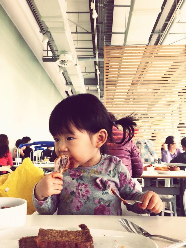 😮IKEA Restaurant 🍽🍗 Hi!♥ IKEA Korea Chicken.