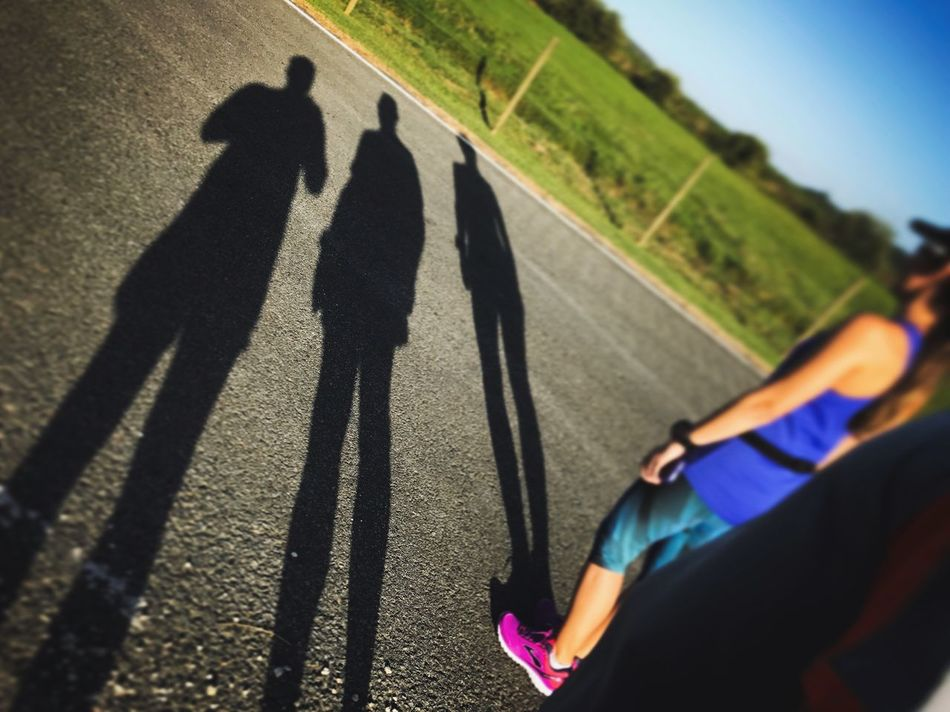 Shadow Real People Sunlight Lifestyles Focus On Shadow Leisure Activity Men Day Outdoors Long Shadow - Shadow Togetherness Women Mammal Low Section Human Leg People Running Team LOVE Running Resist EyeEm Diversity Art Is Everywhere Break The Mold TCPM