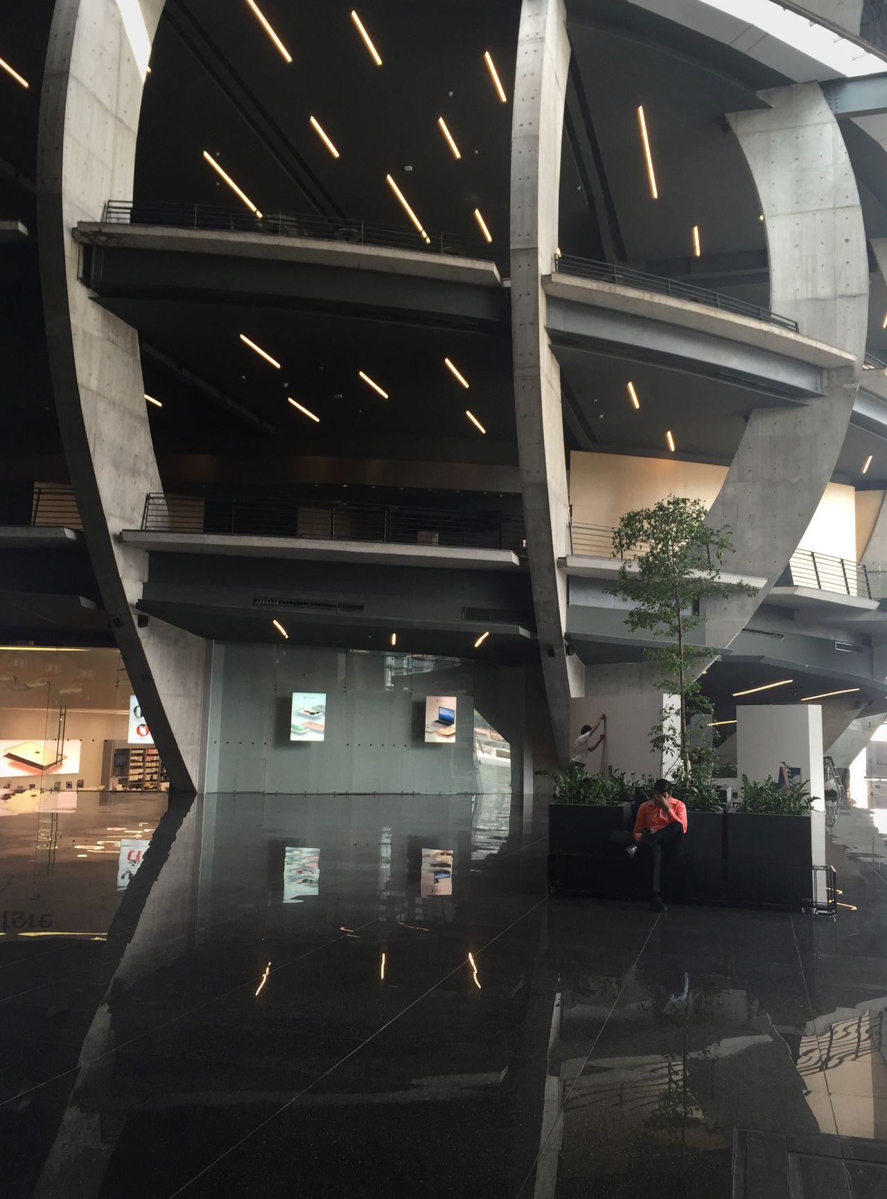 354 / 366 Agustin Landa Agustinlanda Architectural Column Architectural Feature Architecture Building Built Structure Column Illuminated Interior Modern Pabellon M PabellonM