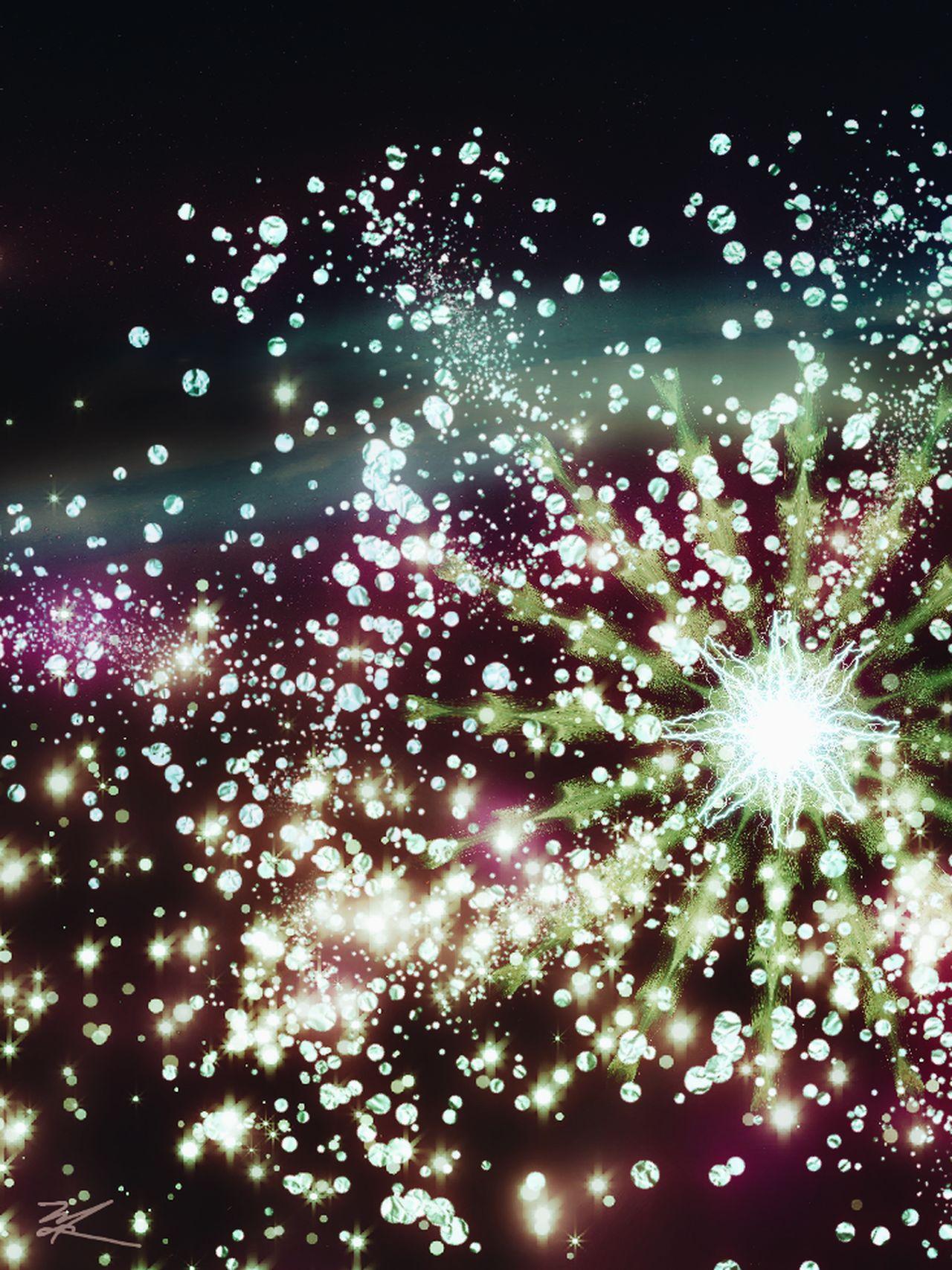 Exploding No People Illuminated Motion Abstract My Artwork Digital Art Abstract Art