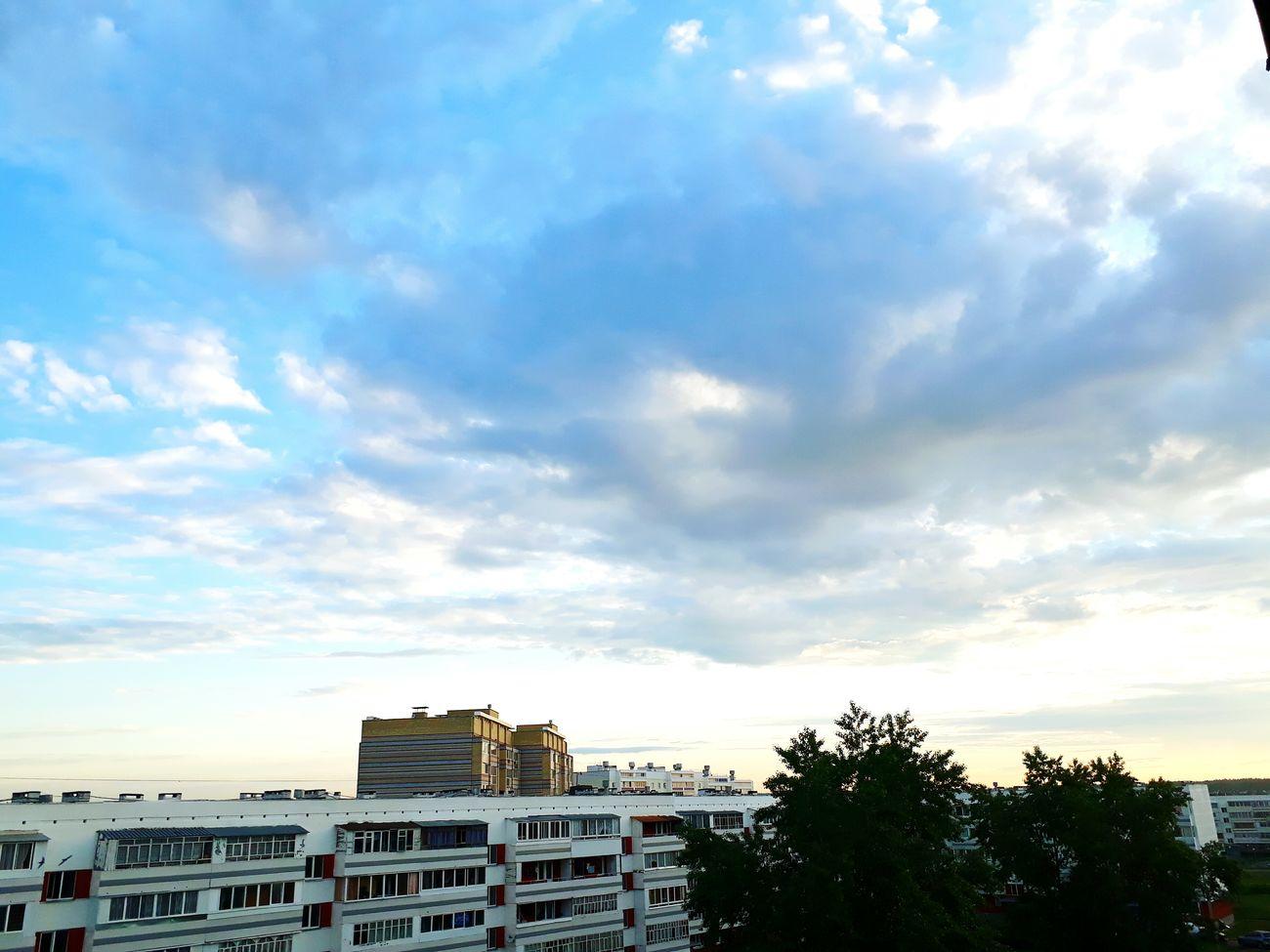 Skie Natural Sunrise Blue White First Eyeem Photo