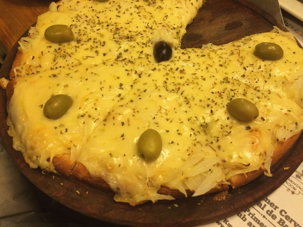 Pizza Pizzatime Bariloche Onion Pizza Cheese Food Olives