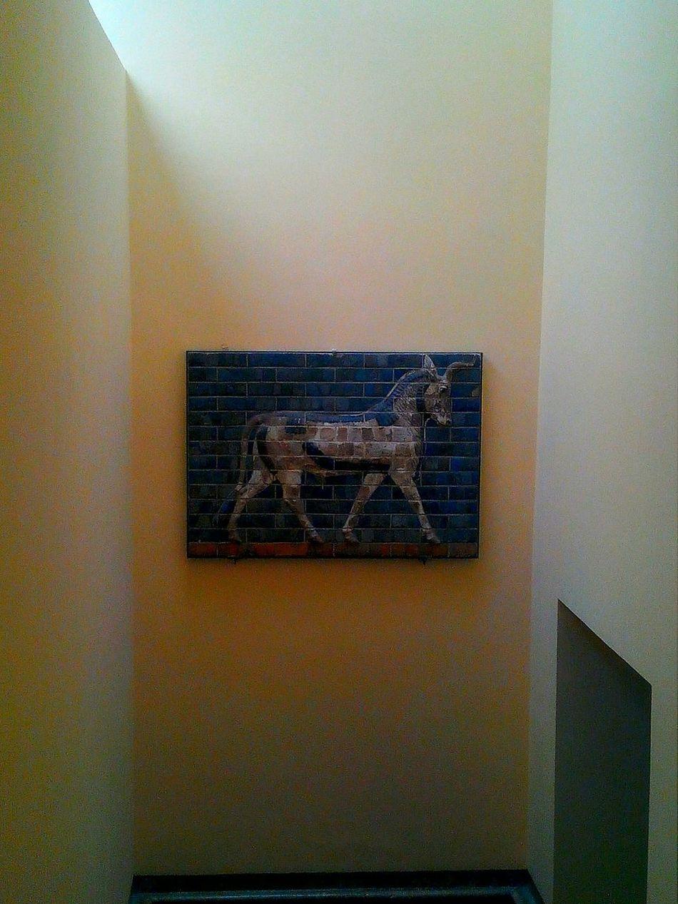 Arkeoloji Müzesinde Archeologymuseum Monument Unicorn Tek Boynuz Eser
