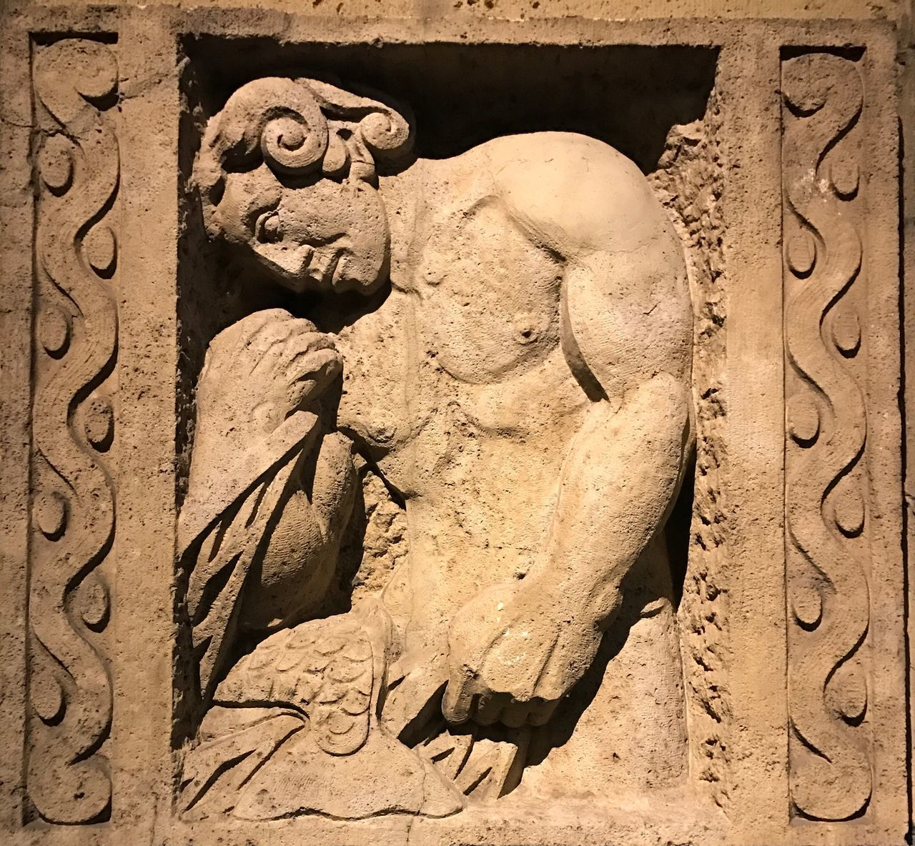 Ancient Civilization Relief Hamburg St.Pauli
