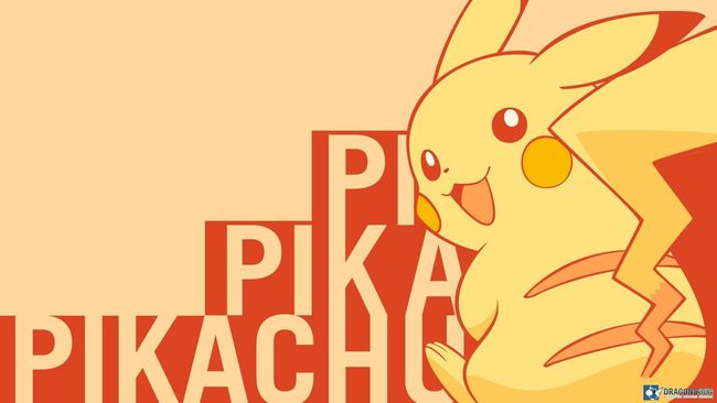 HD Pokémon Pikachu Background