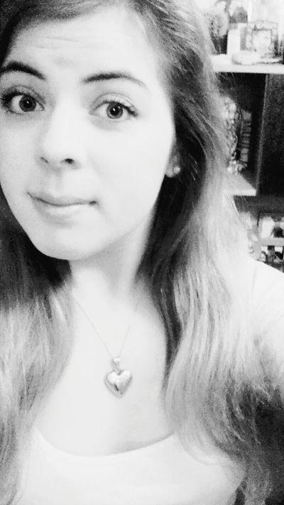 Polish Girl Me Myself & I That's Me Hello World Basia Selfie Black & White