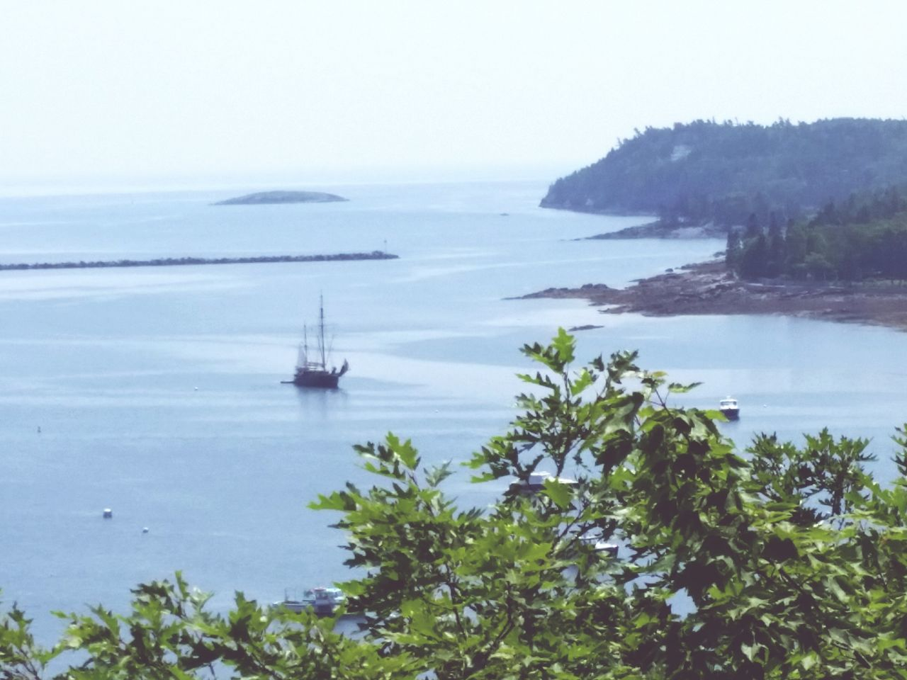 Harbour Life Coastal Maine Pirateship  Sail Away, Sail Away The Traveler - 2015 EyeEm Awards View From Above