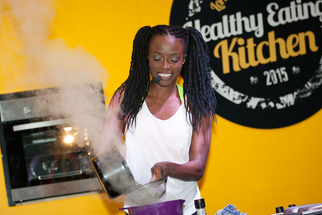 Lorraine Pascale Cooking Healthy Healthy Food Body Power Expo