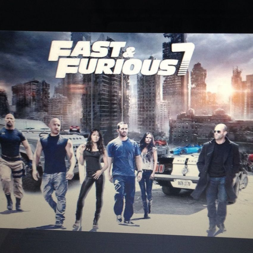 cant wait ! Fast&furious 7 Vin Diesel❤️