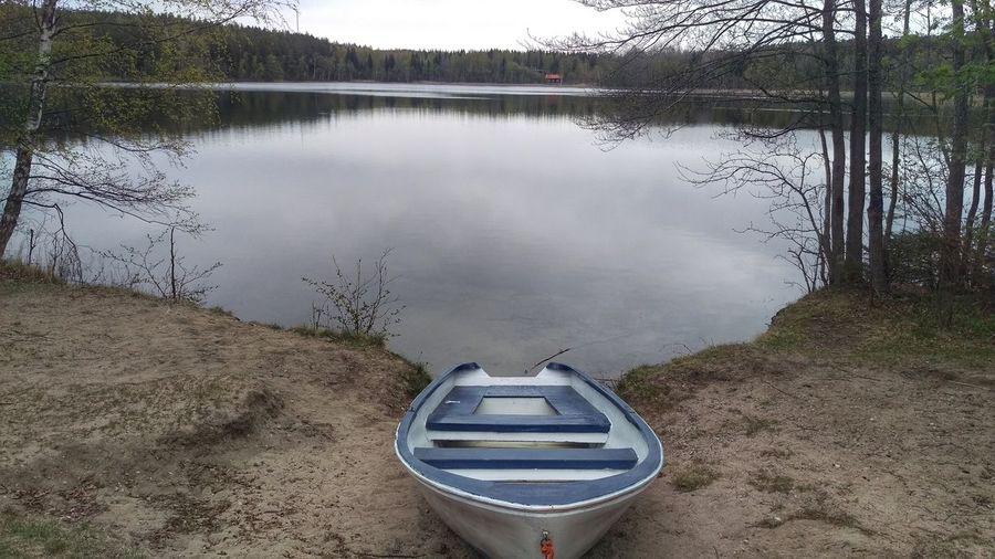 The Great Outdoors - 2017 EyeEm Awards Torsjön Lake Kolmården Nature Boat Nobody Sweden Scandinavia Europe Calmness Spring Day May