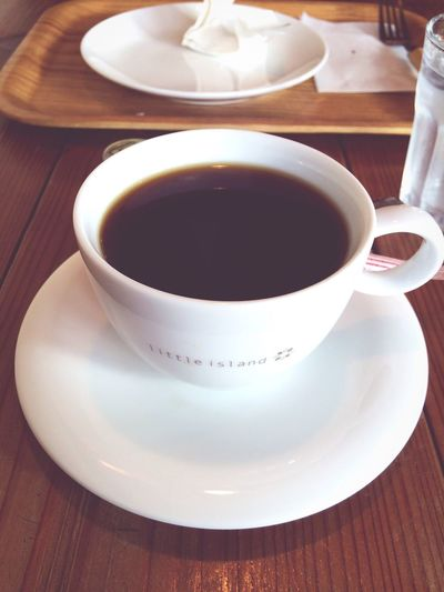 IPhoneography Coffee Cup Refreshment Drink Food And Drink Saucer Coffee - Drink Freshness Cup Table Tea Cup High Angle View Close-up No People Indoors  Tea - Hot Drink Healthy Eating Day Littleisland 今からロミオとジュリエット観劇