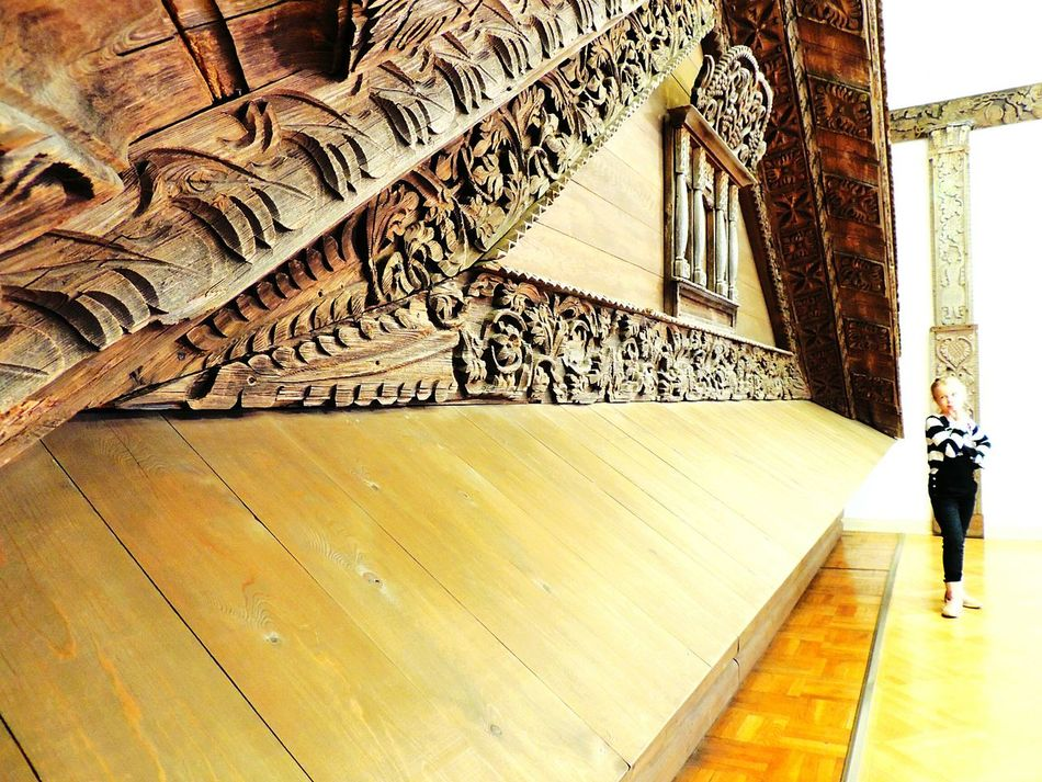 Roof Wooden House Museum Russian Peterburg