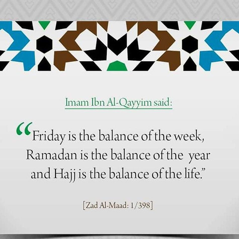 Happy balance of da week.. Jumaahmubarak