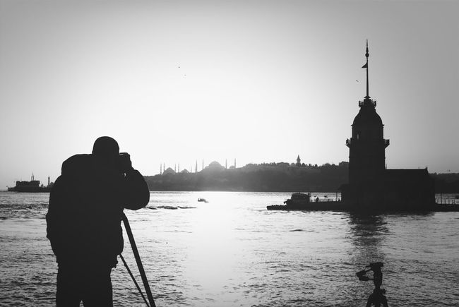 Blackandwhite Streetphotography Istanbul Scenery