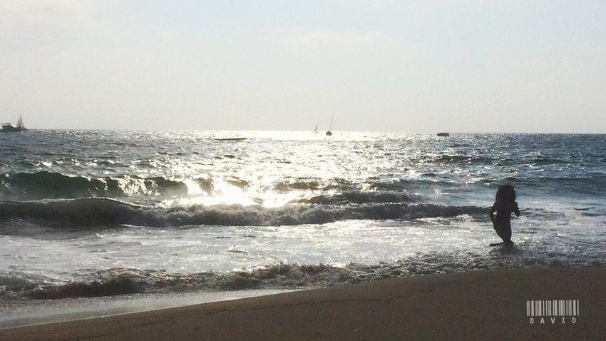 Sun kissing the ocean. Being A Beach Bum Nature EyeEm Nature Lover Ocean View Life Is A Beach Ocean Beachphotography Beach Silhouette