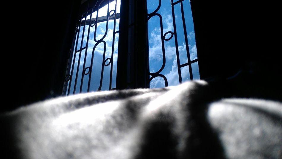 Windows_aroundtheworld Windows View Blue Sky Cloudscape Close-up In Dark Futon EyeEm Best Shots EyeEm Best Shots - Architecture Welcome To Black