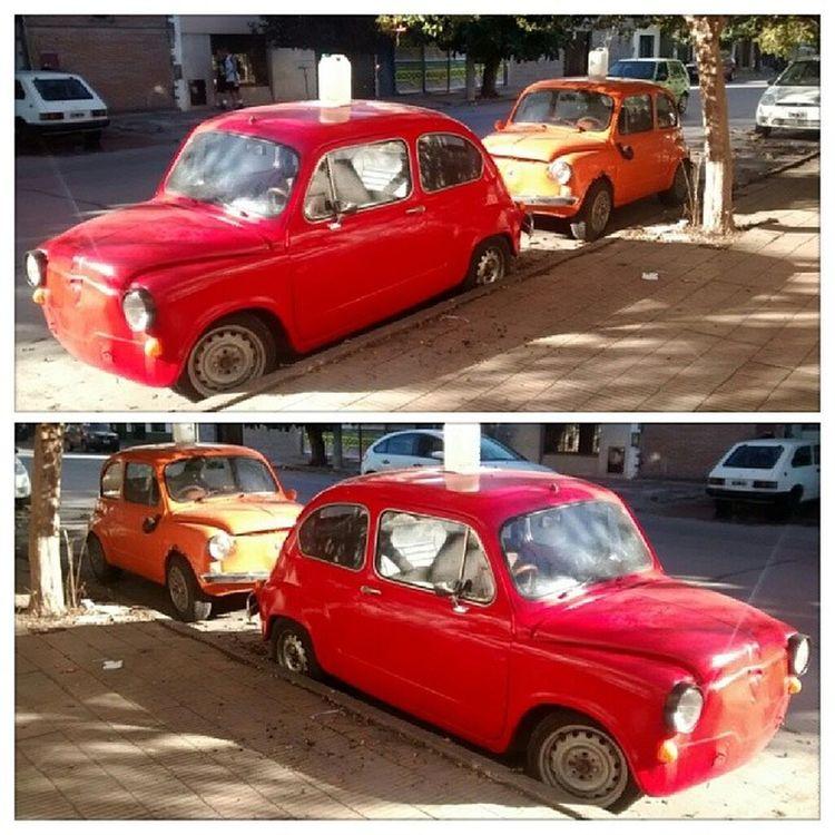 Fitito Twin Orange Red fiat 600 fiat600