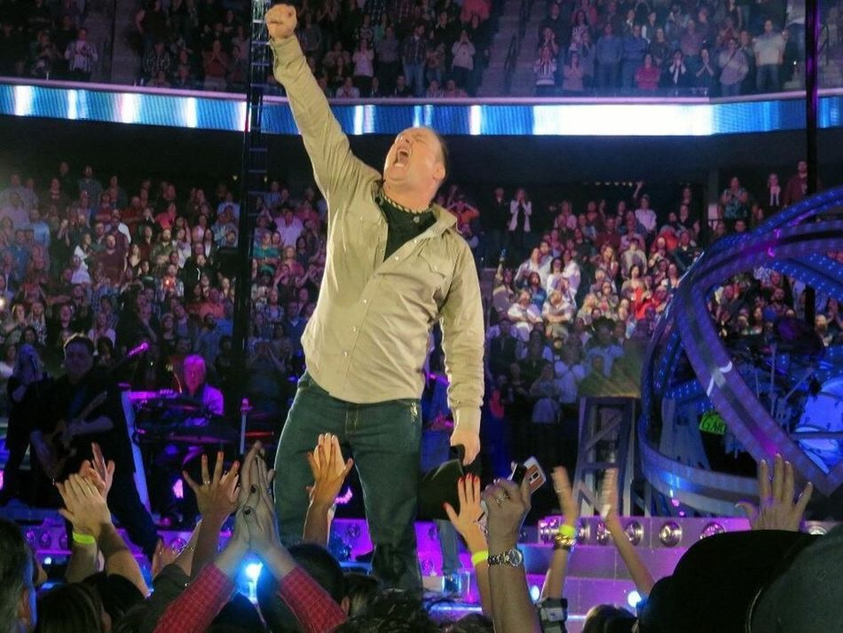 Country Music Concert Concert Photography Bok Center Garth Brooks