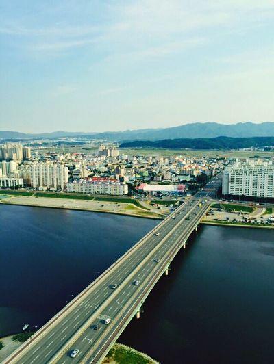 River View Bridge Nice Weather