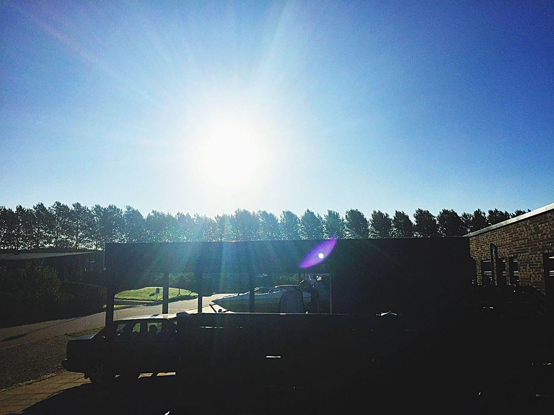 Sunny Solitude Mornongs Like This Clear Sky Blue Outdoors Bright Sunlight LoveLife❤️