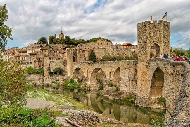 Architecture Travel Destinations History Tourism Famous Place Cloud - Sky Medieval HDR Besalú-Girona