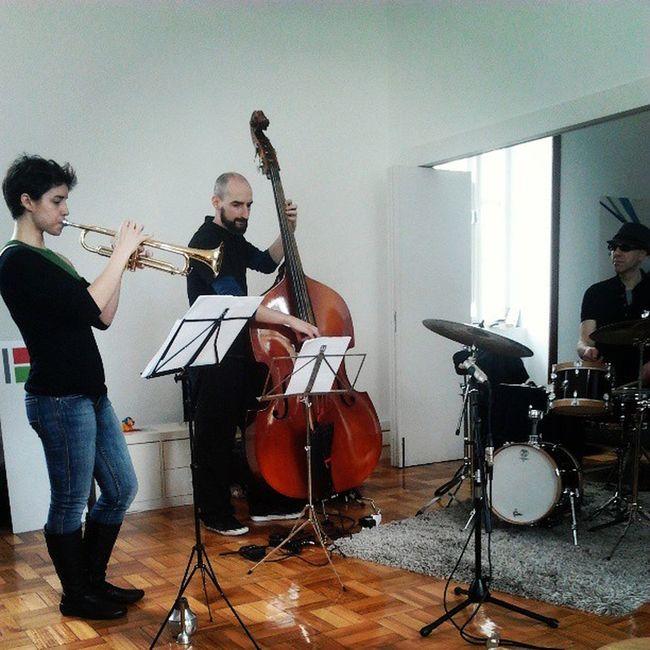 hoje tivemos direito a jazz! Jazz Canal180 Musica Music Concert Concerto
