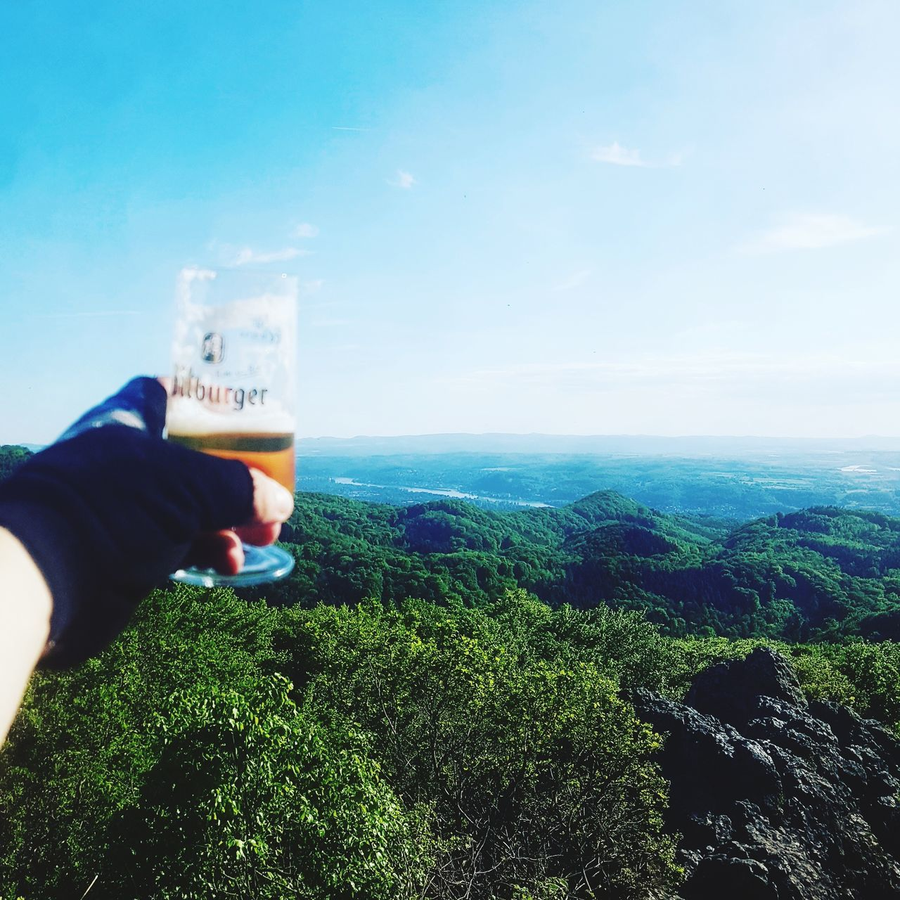 One Person Men Sky Nature Day Drinking Glass People Drink Only Men Human Hand GoPro Hero3+ MTB Biking Ausflug  Sport Nature Gopro MTB Fahrrad Adventure Mountain Built Structure Biking No People Wald Beer